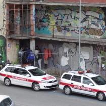 La Police Municipale de la Ville de Genève évacue des squatters aux Franchises